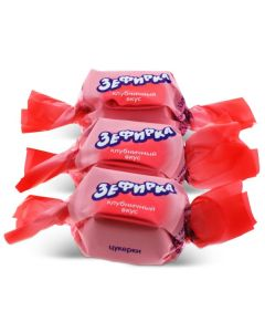 Zephirka Dark Chocolate With Strawberry Filling (2 Lbs)