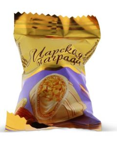 Tzarskaya Nagrada White Chocolate & Almond (2 Lbs)