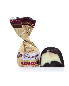 Sugar-Free Dark Chocolate with Cream Filling (35 pcs)