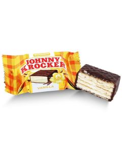 Johnny Krocker - Vanilla Dark Chocolate Wafer (1.250 Lbs)