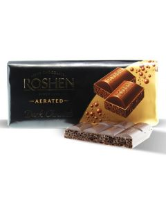Dark Aerated Extra Chocolate 100gr Bar (4 pcs)