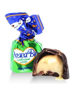 Dark Chocolate Deja Vu Cream-Liquer Pralines (2 Lbs)