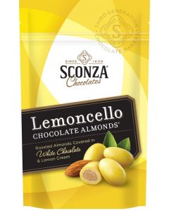 Lemoncello Chocolate Almonds 5 oz Bag (3 pcs)