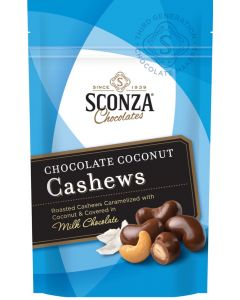 Chocolate Coconut Cashews, 4.5 oz. Bag (3 pcs)