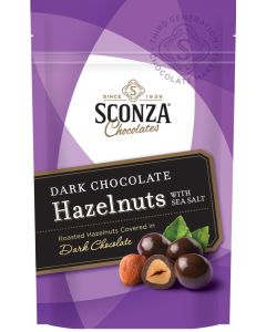 Dark Chocolate Hazelnuts with Sea Salt, 4.5 oz. Bag (3 pcs)