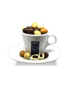 New York Mix Espresso Chocolate Cov. Beans (1 Lbs)