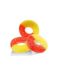 Gummi Ring Peach (2 Lbs)