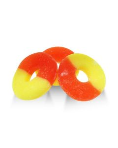 Gummi Sugar Free Peach Rings (2 Lbs)