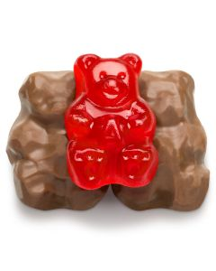 Gummi Bears, Chocolate Covered (2 Lbs)