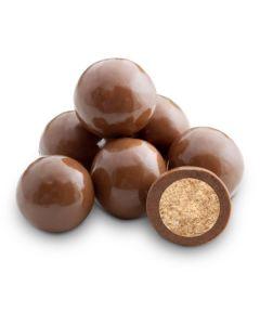 Milk Choc Skinny Dipper Malt Balls (Single Dipped) (1.500 Lbs)